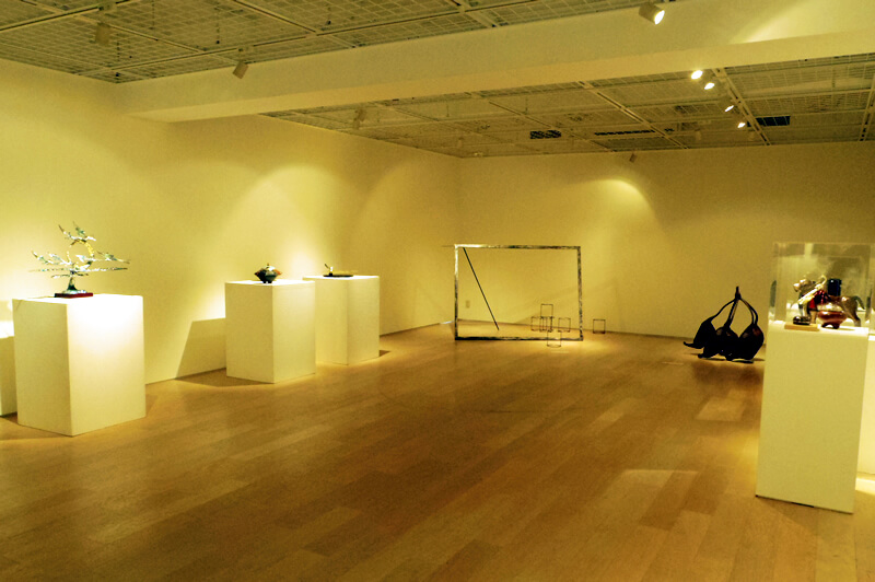 ギャラリー内は合計11点の作品が展示されています
