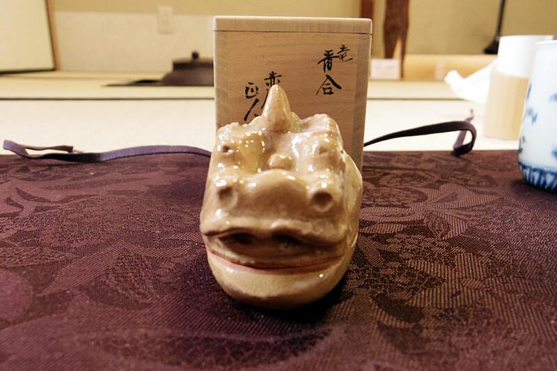 大塩正人の竜の香合(20,000円)買って帰りたかった!^^;