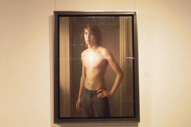 展示作品「17歳のシモーネ」