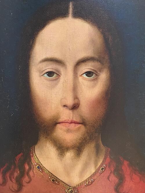 ディーリク・バウツ作「キリストの頭部」購入の図録より