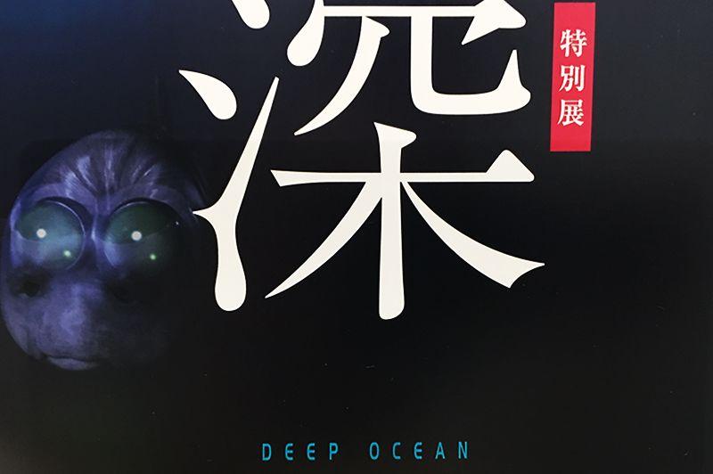「深海2017」展チラシより