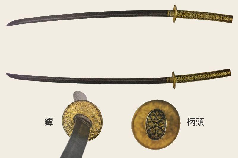 ニエロ装拵刀(購入の図録より)