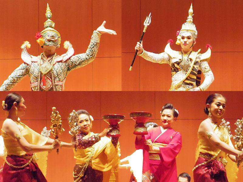 タイ芸術局舞踏団来日特別公演「煌めきのタイ~古典舞踏と音楽の世界」